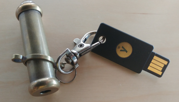 Yubikey 5 used for SSH access